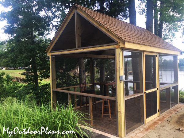 DIY Project - 10x14 Pavilion with Screens