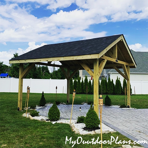 DIY Project - 14x14 Gable Pavilion
