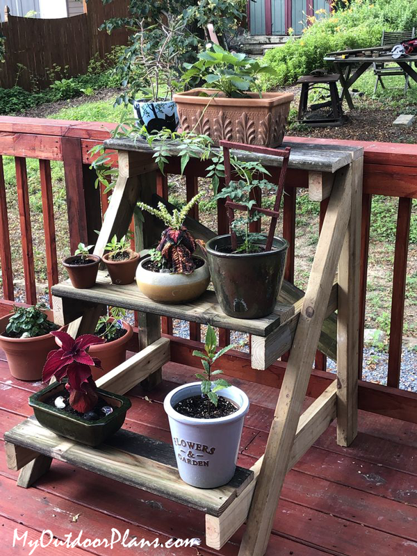 DIY Project - 3 tier Plant Stand