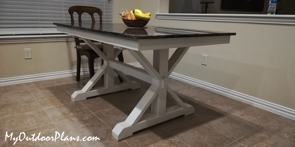 DIY Project - Farmhouse with Granite Top