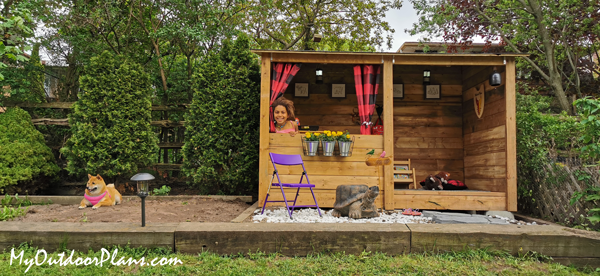 How-to-build-a-lean-to-playhouse