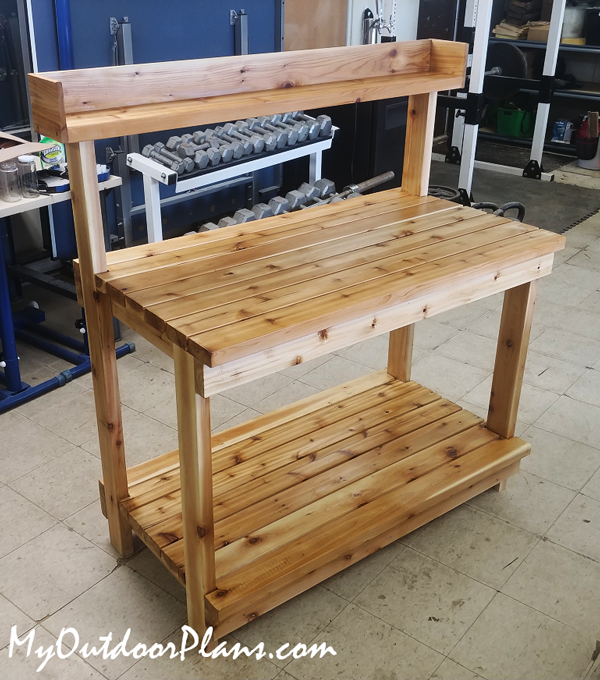 DIY Project - Outdoor Potting Bench
