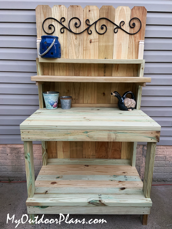 DIY Project - Potting Bench