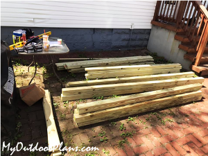 Lumber-for-playset-backyard-project