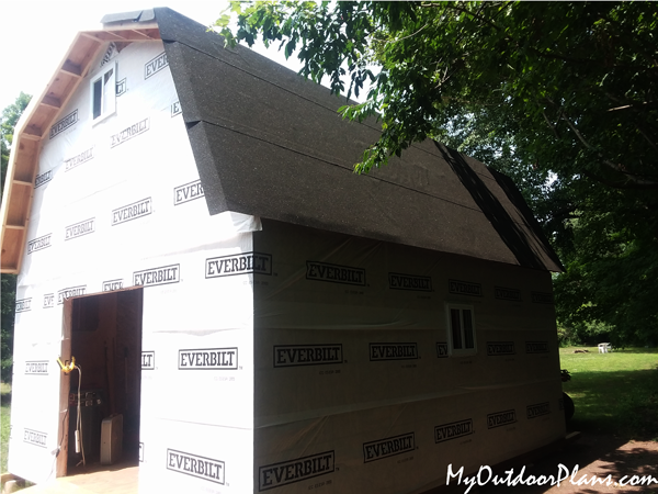 DIY Project - 16x20 Gambrel Shed
