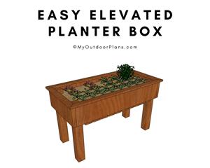 Waist-High-Planter