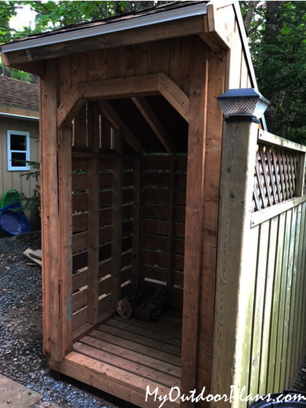 4x4-Wood-Storage-Shed---Front-view