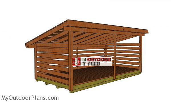 5-cord-diy-wood-shed-plans