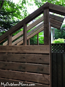 Fitting-the-front-rafters---saltbox-shed