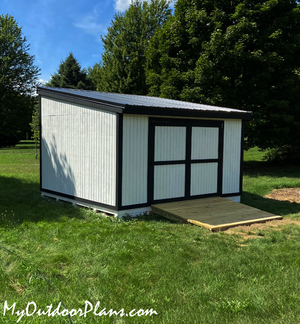 DIY 12x14 Lean to Shed
