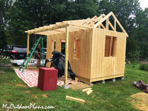 Building-a-10x16-shed-with-porch
