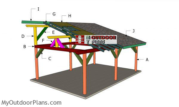 Building-a-16x24-lean-to-pavilion
