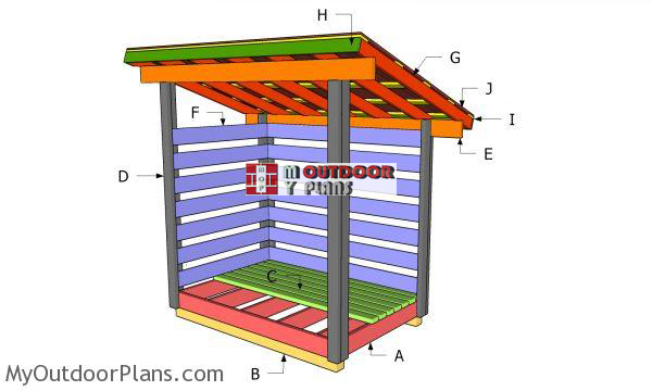 Building-a-2-cord-woodshed
