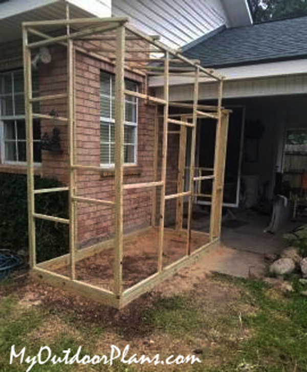 DIY Project - 4x8 Catio