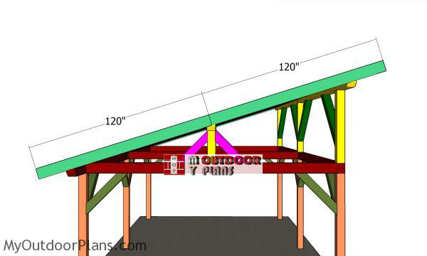 Side-roof-trims---16x24-lean-to-pavilion
