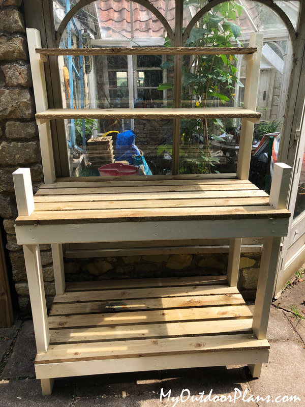Simple-potting-bench