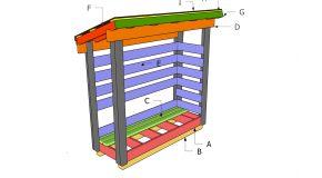 2×6 Firewood Shed Plans – Part 2