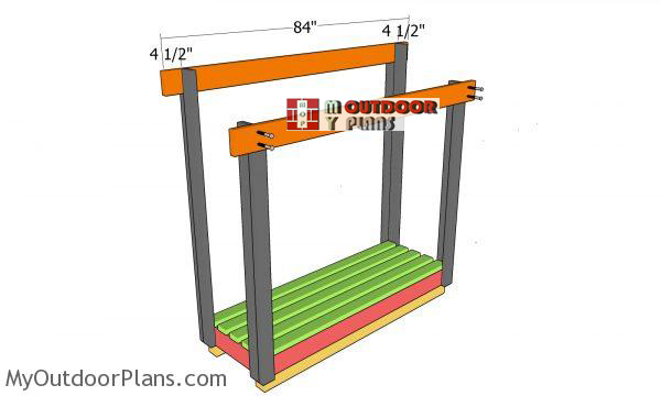 Fitting-the-support-beams