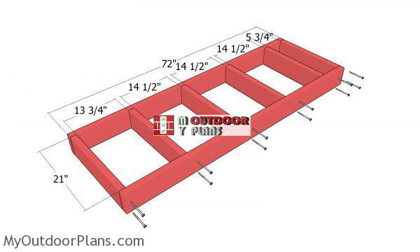 Floor-frame---2x6-shed