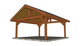 18×18 Pavilion Plans