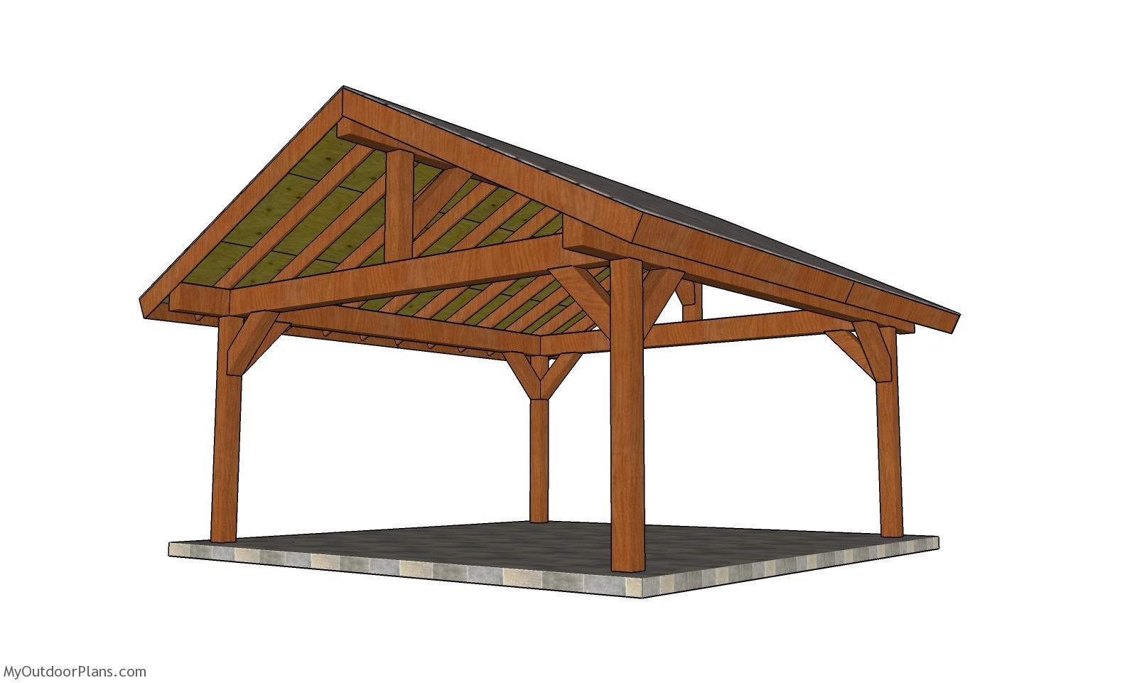 18x18 Pavilion Plans