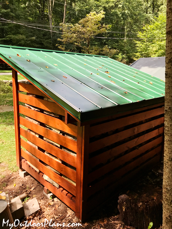 How-to-build-a-2-cord-wood-shed