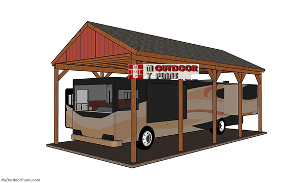 How-to-build-a-20x40-rv-carport