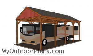How to build a RV carport