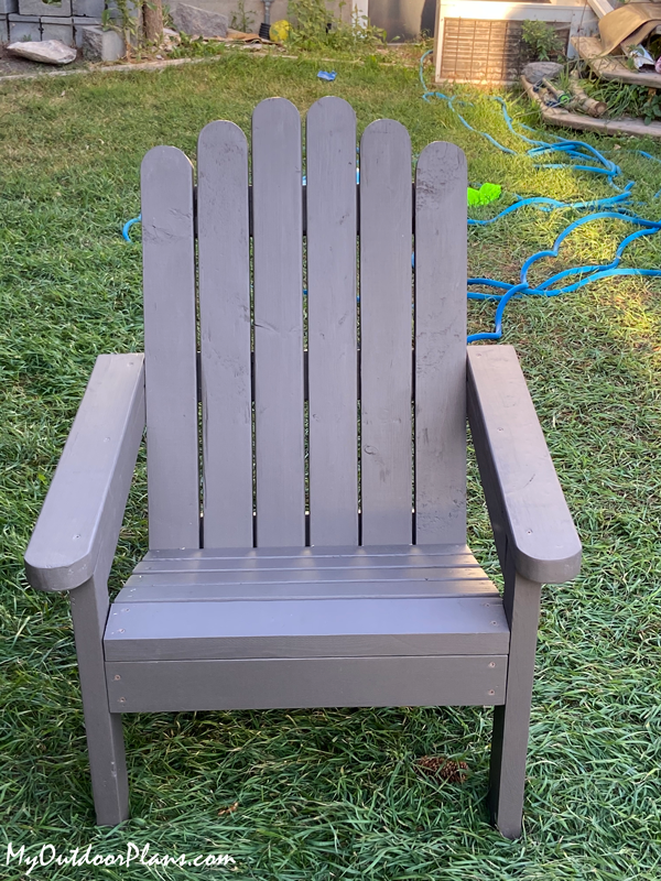DIY Simple Adirondack Chairs from 2x4s