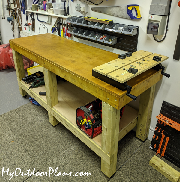 DIY 6 ft Woodworking Bench