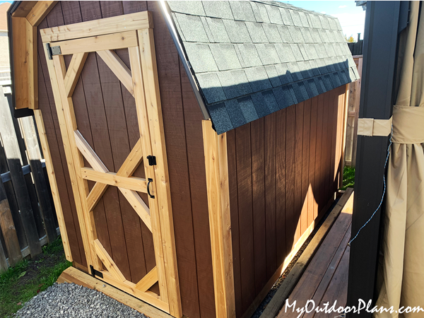 6x10 Gambrel Shed - DIY Project
