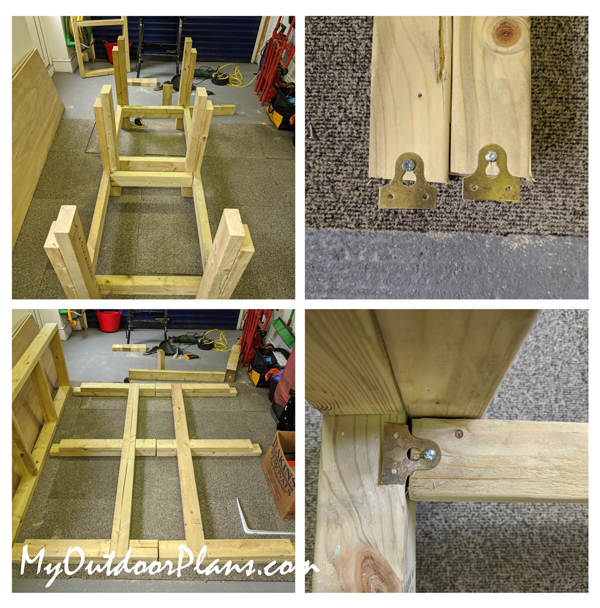Building-the-frame-of-the-workbench