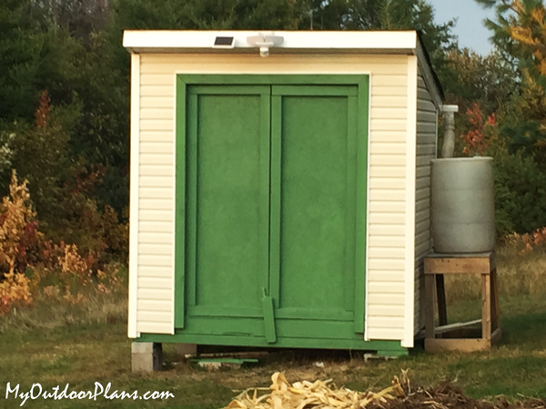 DIY 6x8 Lean to Shed