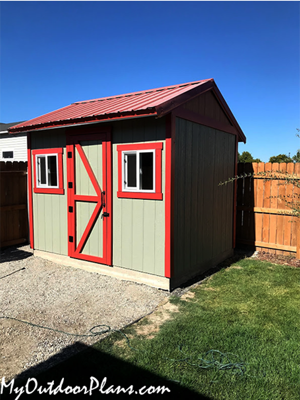 DIY Project - 10x12 Gable Garden Shed
