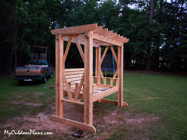 DIY Project - Swing Bed with Pergola
