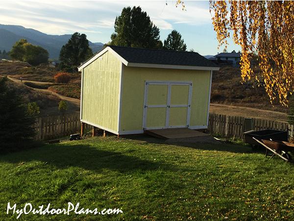 DIY Project - 12x16 salt box shed