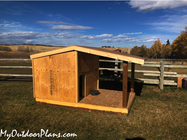 DIY Insulated Dog House with Porch