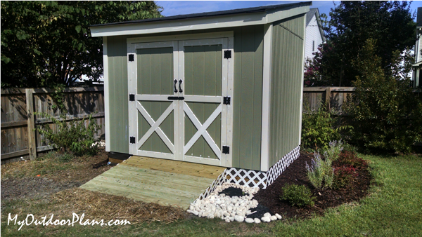 DIY Project - 8x10 Lean to Shed