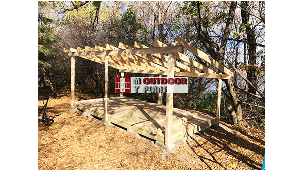 Fitting-the-rafters-to-the-5-cord-wood-shed