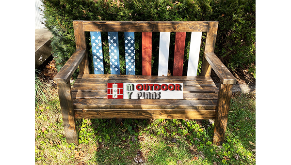Outdoor Bench - DIY Project