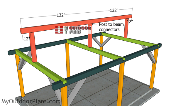 Fitting-the-ridge-beam