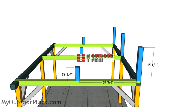 Fitting-the-supports-for-ridge-beams