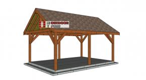 14×20 Pavilion – Free DIY Plans