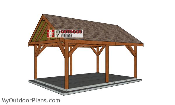 14x20 Pavilion - Free DIY Plans