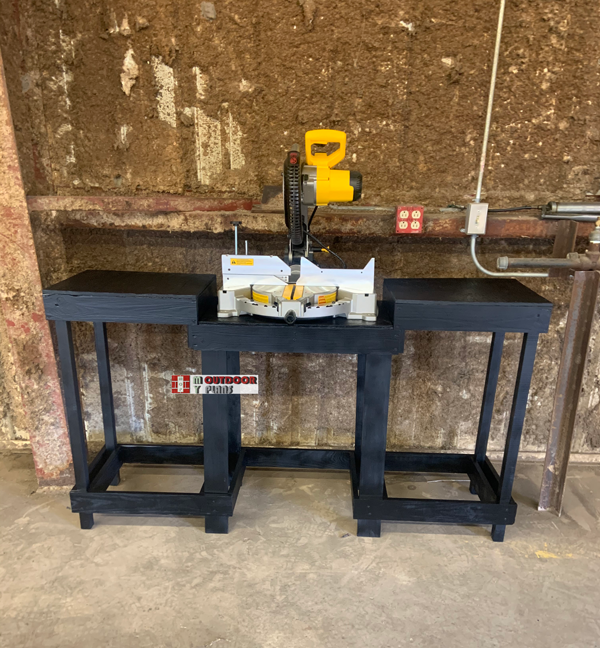 DIY Small Miter Saw Station