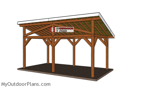 10x20-lean-to-pavilion-plans---back-view
