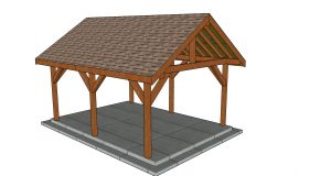 14×18 Gable Pavilion – Free DIY Plans