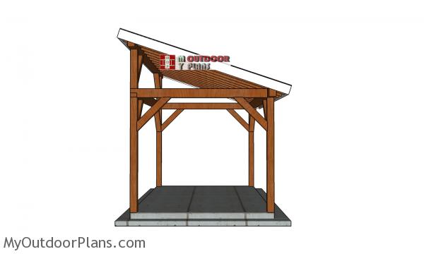Build-a-10x14-lean-to-gazebo
