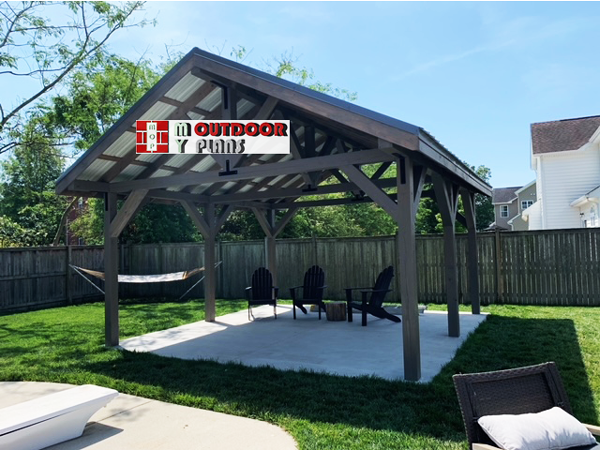 DIY-Large-pavilion-for-backyard