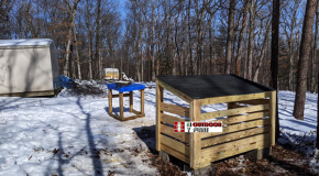 DIY Project – Simple Firewood Shed